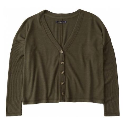 Abercrombie & Fitch Kardigan khaki