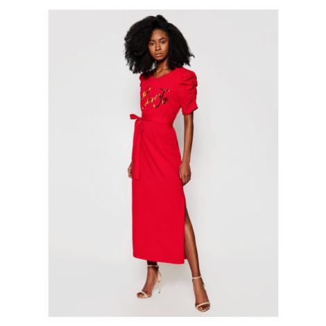 Liu Jo Sukienka codzienna WA1246 J5703 Czerwony Regular Fit
