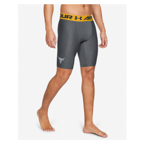 Under Armour Project Rock HeatGear® Armour Szorty Szary