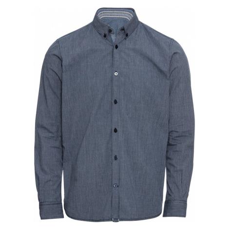 TOM TAILOR Koszula 'ray check stripe package shirt' gołąbkowo niebieski