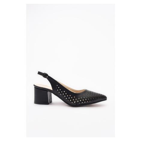 Trendyol Black Klasyczne buty na obcasie