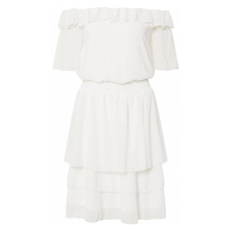 SISTERS POINT Sukienka 'NICOLINE' kremowy