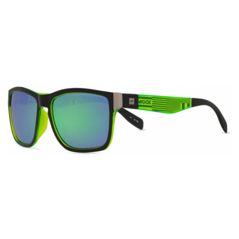Okulary Przeciwsłoneczne Unisex | Zielone Speculum Chloris Woox