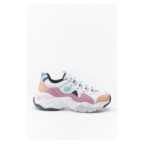Buty Skechers D'lites 3.0 Zenway Wpkb White/pink/blue