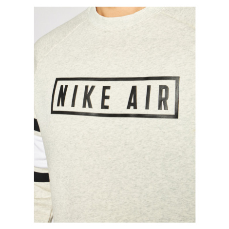 NIKE Bluza Nsw Air Crew BV5156 Szary Loose Fit