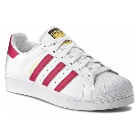 Buty adidas - Superstar Foundation J B23644 Ftwwht/Bopink/Ftwwht