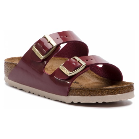 Klapki BIRKENSTOCK - Arizona Bs 1013068 Patent Bordeaux