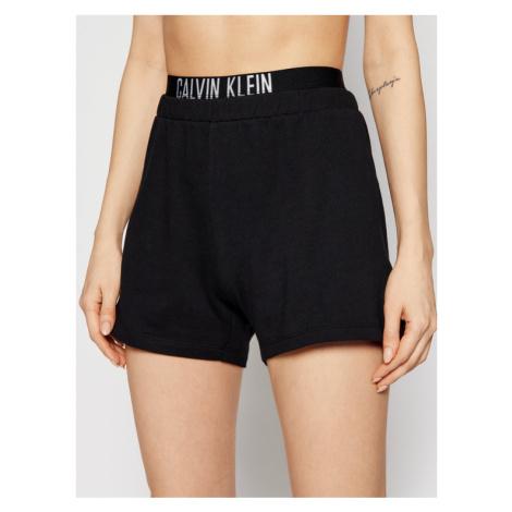 Calvin Klein Swimwear Szorty plażowe KW0KW01356 Czarny Regular Fit