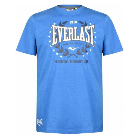 Everlast Long Line Crew T Shirt Mens