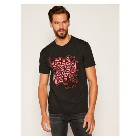 Iceberg T-Shirt 20EMP0F02B6309 Czarny Regular Fit