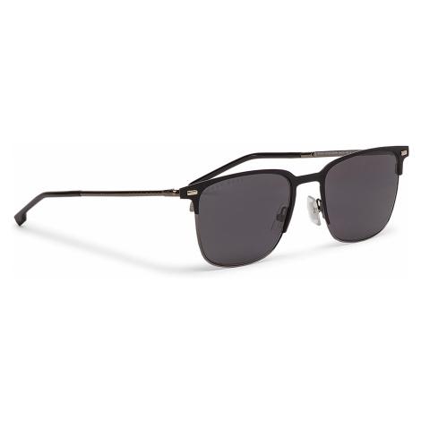Okulary przeciwsłoneczne BOSS - 1019/S Matt Black 003 Hugo Boss