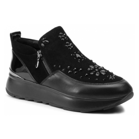 Geox Sneakersy D Gendry C D945TC 02254 C9997 Czarny
