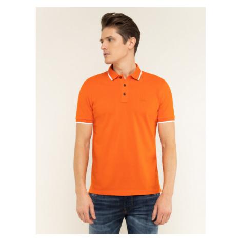 Boss Polo Parlay 73 50424202 Pomarańczowy Regular Fit Hugo Boss