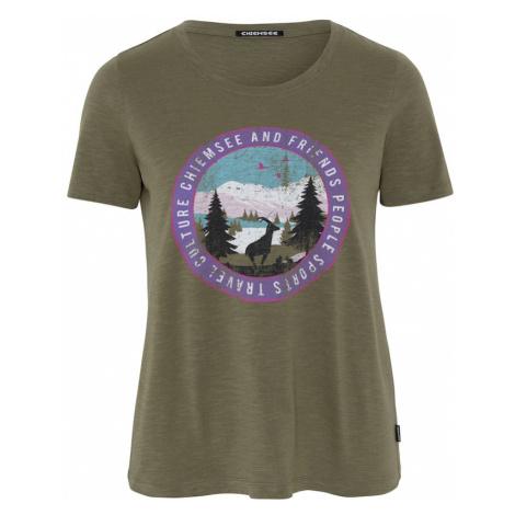 CHIEMSEE Koszulka funkcyjna 'Sangaj' oliwkowy / mieszane kolory