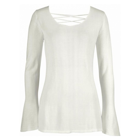 LASCANA Sweter offwhite