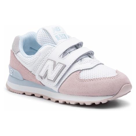 Sneakersy NEW BALANCE - YV574NSE Biały Kolorowy