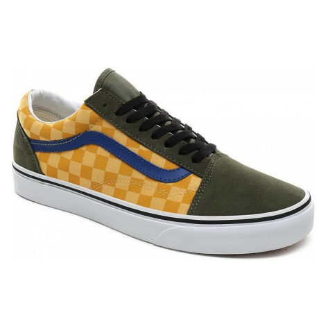buty Vans Old Skool - OTW Rally/Checker/Multicolour/Deep Lichen Green