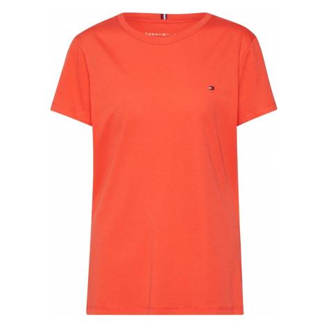 TOMMY HILFIGER Koszulka ciemnopomarańczowy