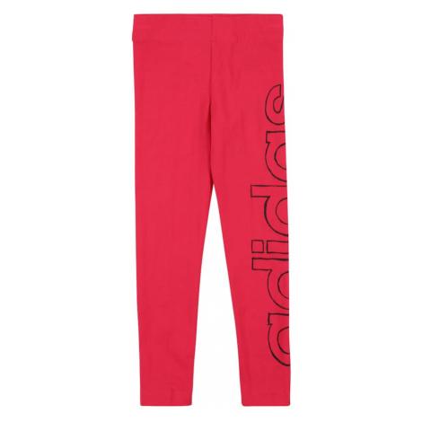 ADIDAS PERFORMANCE Spodnie sportowe różowy / czarny
