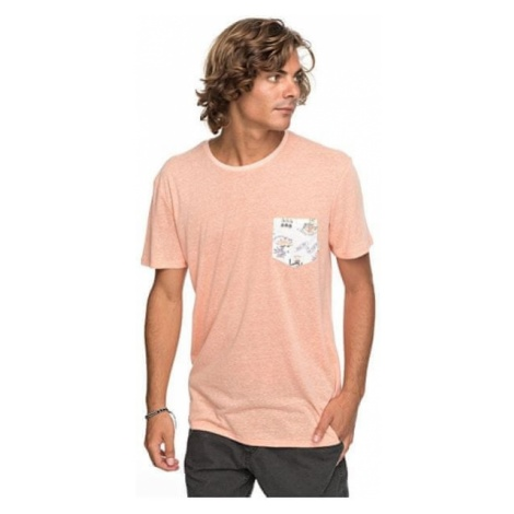 Quiksilver Męska koszulka Broken Leash Kadm Orange Heather EQYKT03686-NHJH