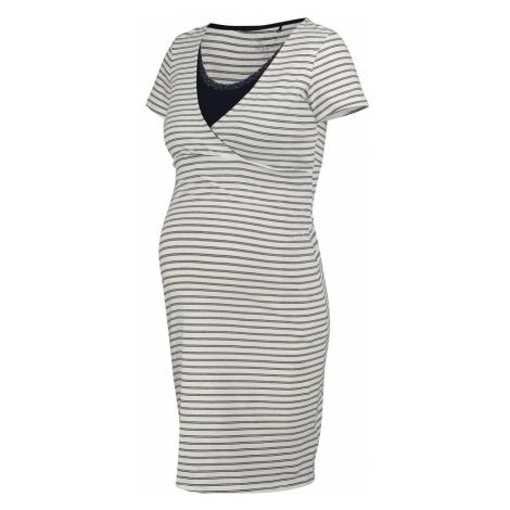 Noppies Sukienka 'Suzy' biały / niebieska noc