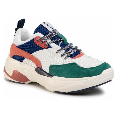 Sneakersy PEPE JEANS - Sinyu Mood PLS30986 White 800