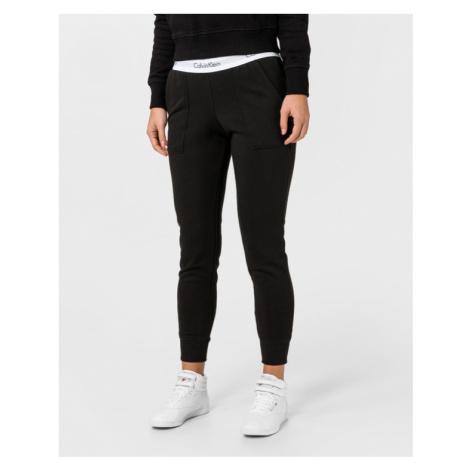 Calvin Klein Spodnie dresowe Czarny