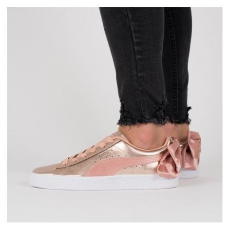 Buty damskie sneakersy Puma Basket Bow Luxe Wns 367851 01