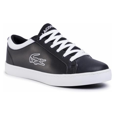 Sneakersy LACOSTE - Straightset 120 2 Cuj 7-39CUJ0002312 Blk/Wht