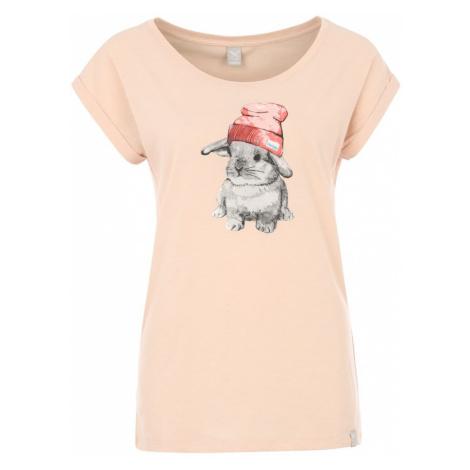 Iriedaily Koszulka 'It Hasi' różowy pudrowy