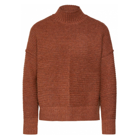 ONLY Sweter 'ELAINA' pomarańczowy