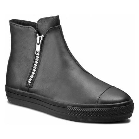 Sneakersy CONVERSE - Ctas High Line Premium Leather 553312C Black/Black/Black