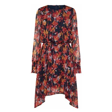 Y.A.S Sukienka 'YASAUTUMN LS DRESS' mieszane kolory / czerwony