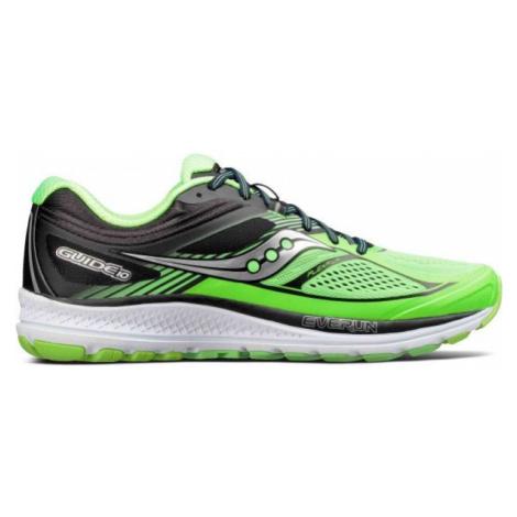 Saucony GUIDE 10 zielony 8.5 - Obuwie do biegania męskie