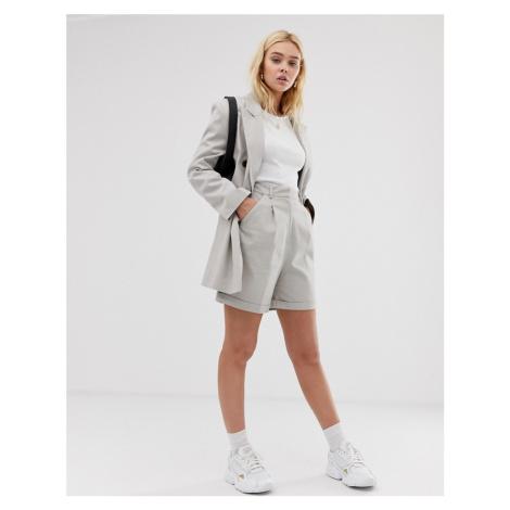 ASOS DESIGN mom suit shorts