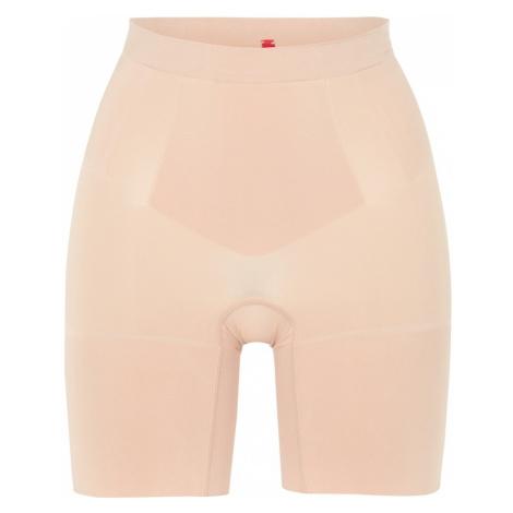 SPANX Spodnie modelujące 'Oncore Mid-Thigh' cielisty