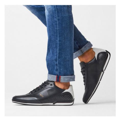 Boss Sneakersy Saturn 50439394 10230186 01 Granatowy Hugo Boss