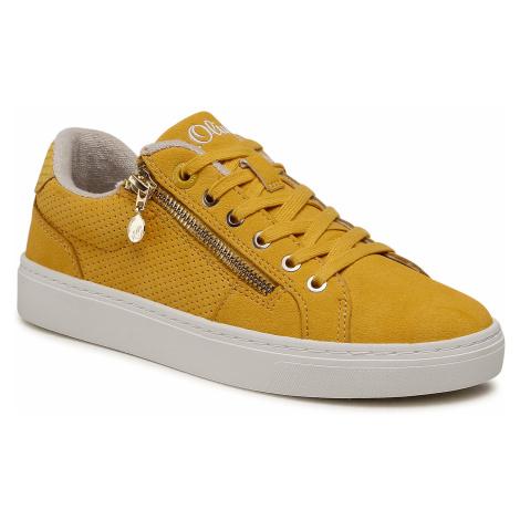 Sneakersy S.OLIVER - 5-23610-36 Saffron 601