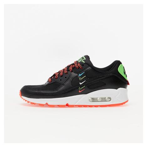 Nike Air Max 90 WW Black/ Black-Flash Crimson-Green Strike