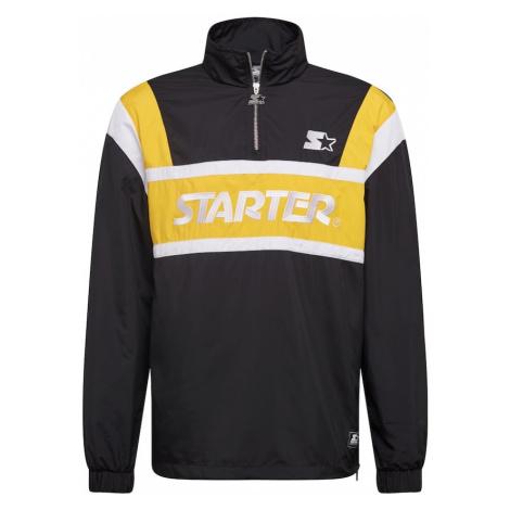 Starter Black Label Kurtka przejściowa czarny / żółty / biały