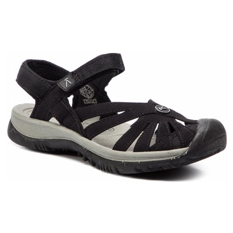 Sandały KEEN - Rose Sandal 1008783 Black/Neutral Grey