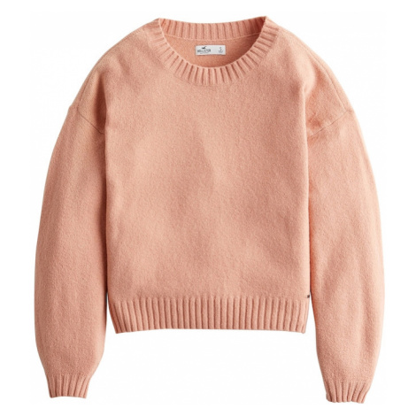 HOLLISTER Sweter 'XM19-EZ FABBA COZY CORE 2CC' różowy