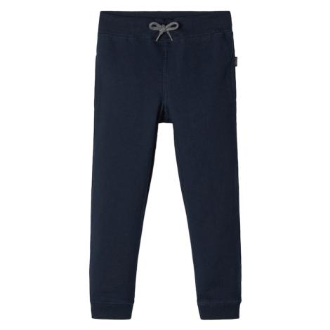 NAME IT Spodnie 'BRUSHED' niebieska noc