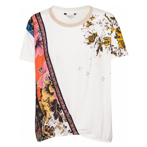 Desigual Koszulka 'ATENAS' biały / mieszane kolory
