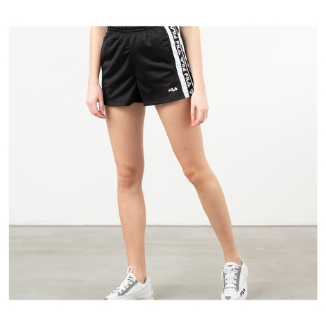 FILA Tarin High Waist Shorts Black/ Bright White