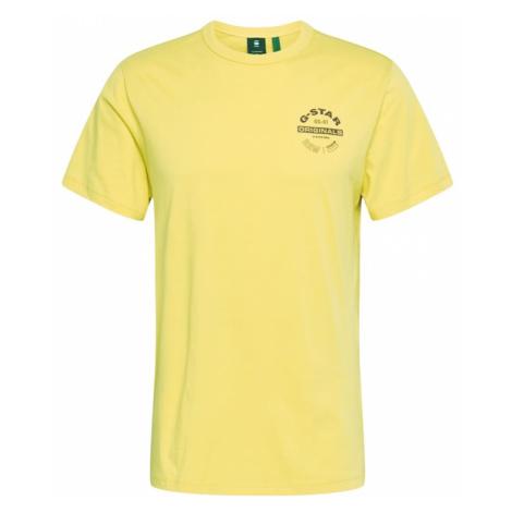 G-Star RAW Koszulka żółty