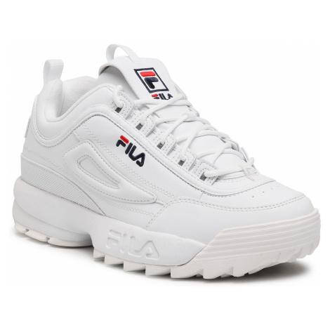 Sneakersy FILA - Disruptor Low Wmn 1010302.1FG White