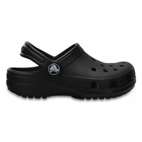 Klapki dziecięce Crocs Classic Clog K 204536 BLACK