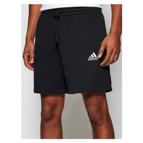 Adidas Szorty sportowe Essentials GK9600 Czarny Regular Fit