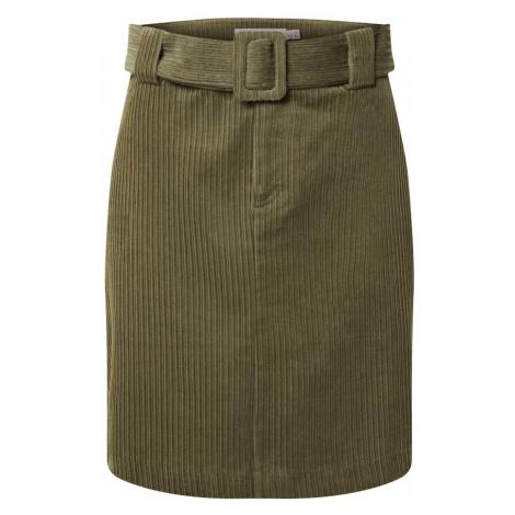 ICHI Spódnica zielony